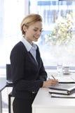 Bizneswomanu działanie Fotografia Stock