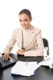 bizneswomanu działanie Obraz Royalty Free