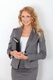 bizneswomanu ja target1650_0_ Zdjęcie Stock