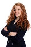 bizneswomanu ja target2316_0_ zdjęcie royalty free