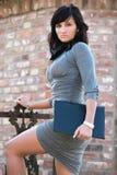 bizneswomanu śliczny bizneswomanie Zdjęcia Royalty Free