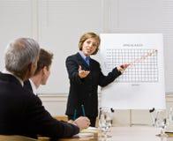 bizneswomanu mapy target1417_0_ zdjęcia royalty free