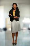 Bizneswomanu ono Uśmiecha się Obraz Royalty Free
