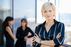 bizneswomanu portret Obrazy Stock