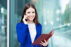 Bizneswomanu portret zdjęcia royalty free