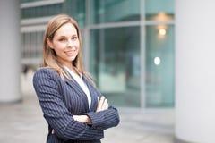 Bizneswomanu portret zdjęcia stock