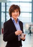 bizneswomanu portreta senior Zdjęcie Stock