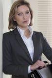 bizneswomanu rezolutny niepłonny obrazy stock