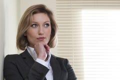bizneswomanu rezolutny niepłonny obraz stock