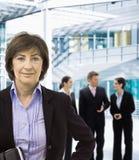 bizneswomanu senior Obrazy Stock