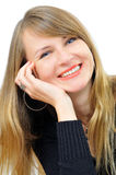 bizneswomanu sucessful szczęśliwy Obraz Stock