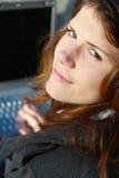bizneswomanu target522_0_ Obrazy Stock