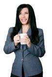bizneswomanu uśmiecha się obrazy royalty free