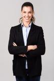bizneswomanu uśmiecha się piękny taniec para strzału kobiety pracowniani young Obrazy Royalty Free