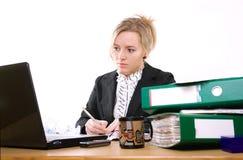 bizneswomanu urzędu zdjęcie royalty free
