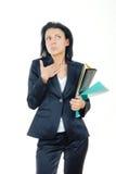 bizneswomanu zamieszanie Fotografia Stock