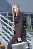 bizneswomanów young Obrazy Stock