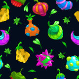 Bizzare fruits pattern Stock Photo