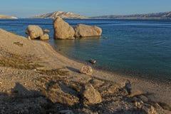 Bizzare skały w morzu Zdjęcie Royalty Free