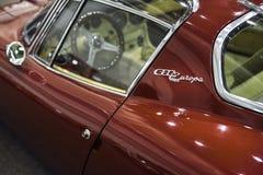 1967年Bizzarrini里窝那5300 GT老汽车 免版税库存照片