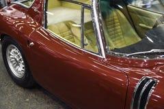 1967年Bizzarrini里窝那5300 GT老汽车 免版税库存图片
