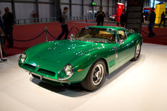 Bizzarrini 5300GT Strada Milaan Autoclassica 2014 Royalty-vrije Stock Afbeelding