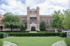 Bizzell Memorial Library Royalty Free Stock Photo