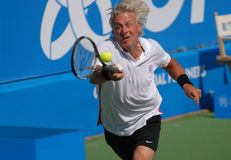 Björn Borg in action Royalty Free Stock Photo