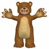 björn stock illustrationer