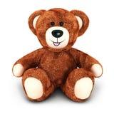 björn för nalle 3d royaltyfri illustrationer