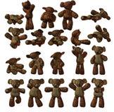 björn isolerad nalle royaltyfri illustrationer