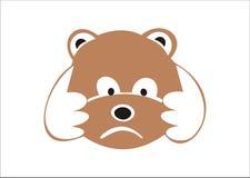 björn little Arkivfoton