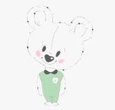 björn little nalle Royaltyfri Fotografi