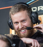 Björn `THREAT` Persson. Coach for NIP at Dream Hack Masters Malmö 2017 Stock Photography