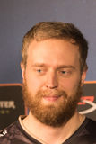 Björn `THREAT` Persson. After the win against NAVI Royalty Free Stock Photography