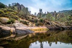 Björnbergsklyftabehållaren i höjdpunktnationalpark royaltyfria bilder