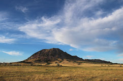 BjörnButte i South Dakota Arkivbilder