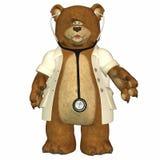 björndoktor vektor illustrationer