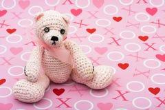 björnen älskar jag dig Royaltyfria Bilder