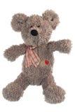björnen isolerade nallewhite Royaltyfri Bild