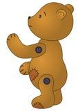 björnen lappade SAD nalle Arkivfoton