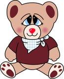 björnförälskelse stock illustrationer