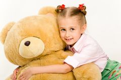 björnflickanalle Royaltyfria Bilder