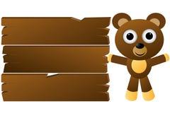 björnframställning Vektor Illustrationer