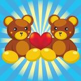 björnhjärtanalle Arkivfoto