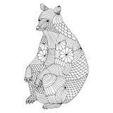 Björnillustration Fotografering för Bildbyråer