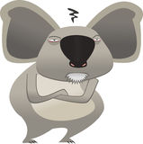 björnkoala vektor illustrationer