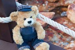 Björnleksaker, ungeleksaker Royaltyfria Bilder