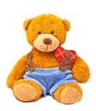 björnnalletoy arkivbild