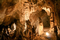 Björns grotta, Rumänien royaltyfria foton